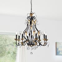 Adhafera 8 Light Candle Chandelier