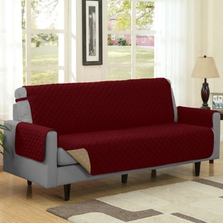 Reversible Quilted Microfiber Sofa Furniture Protector