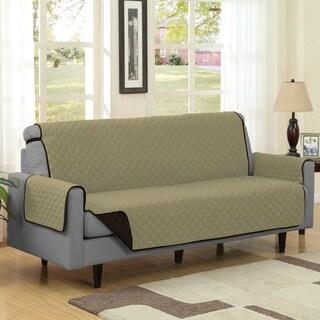 Reversible Quilted Microfiber Sofa Furniture Protector