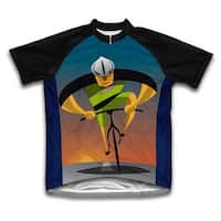 Scudo Unstoppable Multicolored Microfiber Short-sleeved Cycling Jersey