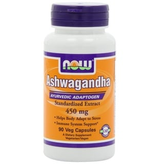NOW Foods 450 mg Ashwagandha Extract (90 Capsules)