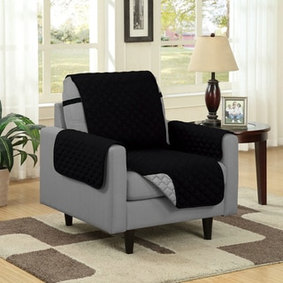 Reversible Quilted Microfiber Chair Furniture Protector
