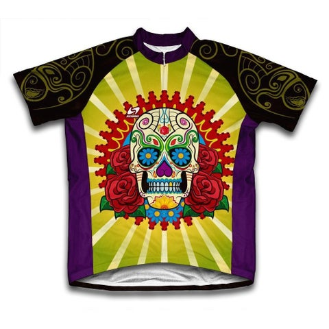 Scudo Catrina Multicolor Microfiber Short-sleeve Cycling Jersey