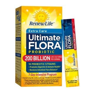 ReNew Life Extra-Care Ultimate Flora Probiotic 200 Billion (7 Packets)