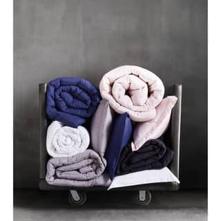 Merit Linens Ultra Soft 3 Piece Duvet Cover Set
