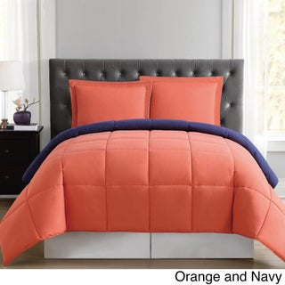 Truly Soft Everyday Reversible Down Alternative 3-piece Comforter Set (3 options available)