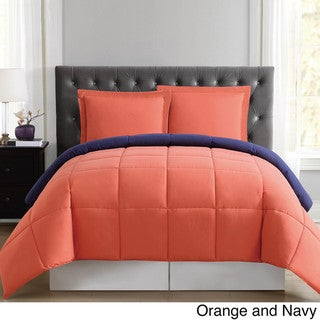 Truly Soft Everyday Reversible Down Alternative 3-piece Comforter Set