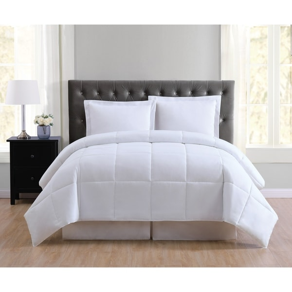 Truly Soft Everyday Reversible Down Alternative 3-piece Comforter Set
