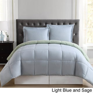 Truly Soft Everyday Reversible Down Alternative 3-piece Comforter Set (More options available)