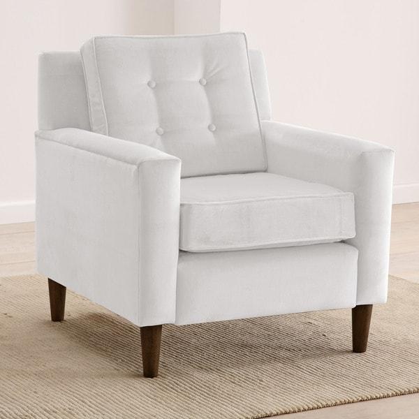 Shop Skyline Furniture Velvet Upholstered Tufted Accent