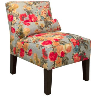 Skyline Garden Odyssey Fog Fabric Accent Chair
