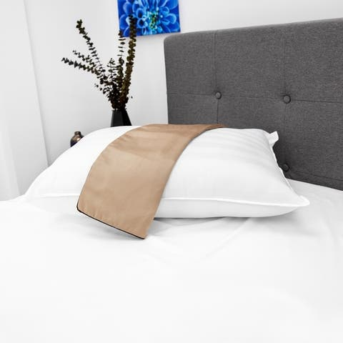 SwissLux NightSpa Cupron Pillowcase and Pillow Bundle