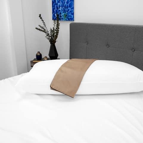 SwissLux NightSpa Cupron Pillowcase and Pillow Bundle