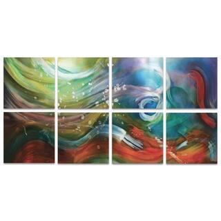 NAY 'Esne Windows' Large Rainbow Art on Metal or Acrylic