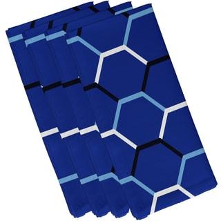 19 x 19-inch Cool Shades Geometric Print Napkin (Set of 4)