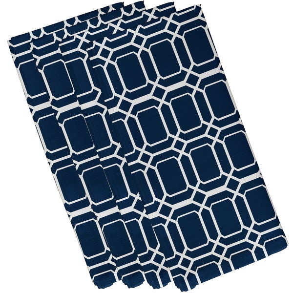 O the Fun Geometric Print Napkin