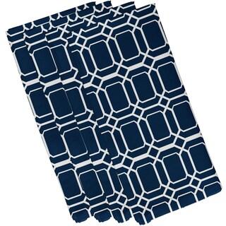 O the Fun Geometric Print Napkin