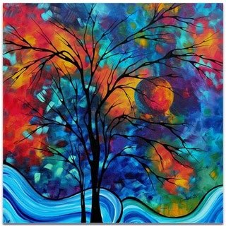 Megan Duncanson 'A Secret Place' Landscape Painting on Metal or Acrylic