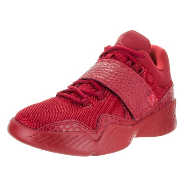 42f59d42019 Shop Nike Men s Jordan J23 Red Textile Basketball Shoes - Free ...