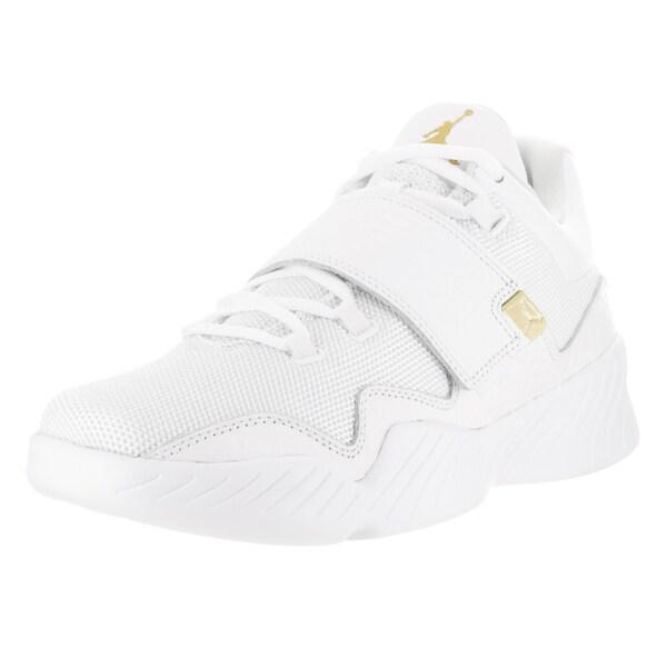 cc222f5909e Shop Nike Jordan Men's Jordan J23 White Leather Casual Shoes - Free ...