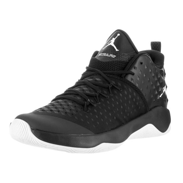 0ebbfa03f601 Nike Jordan Men  x27 s Jordan Extra Fly Black Synthetic Leather Basketball  Shoes