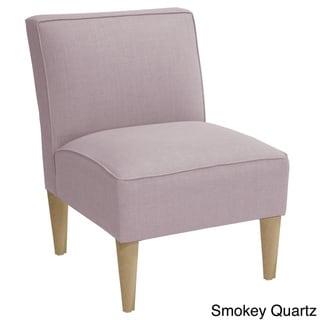 Skyline Armless, Linen-Upholstered Accent Chair