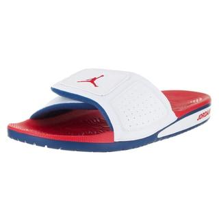 Nike Jordan Men's Jordan Hydro III White Synthetic Leather Retro Sandal