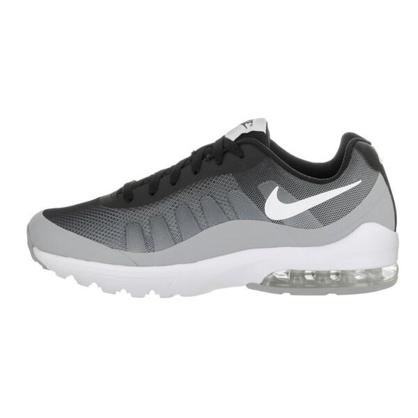 Shop Nike Men's Air Max Invigor Print Black Running Shoes