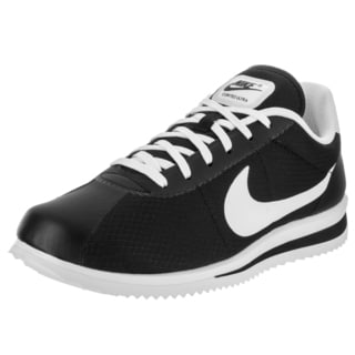 Nike Men's Cortez Ultra Black Textile Casual Shoe