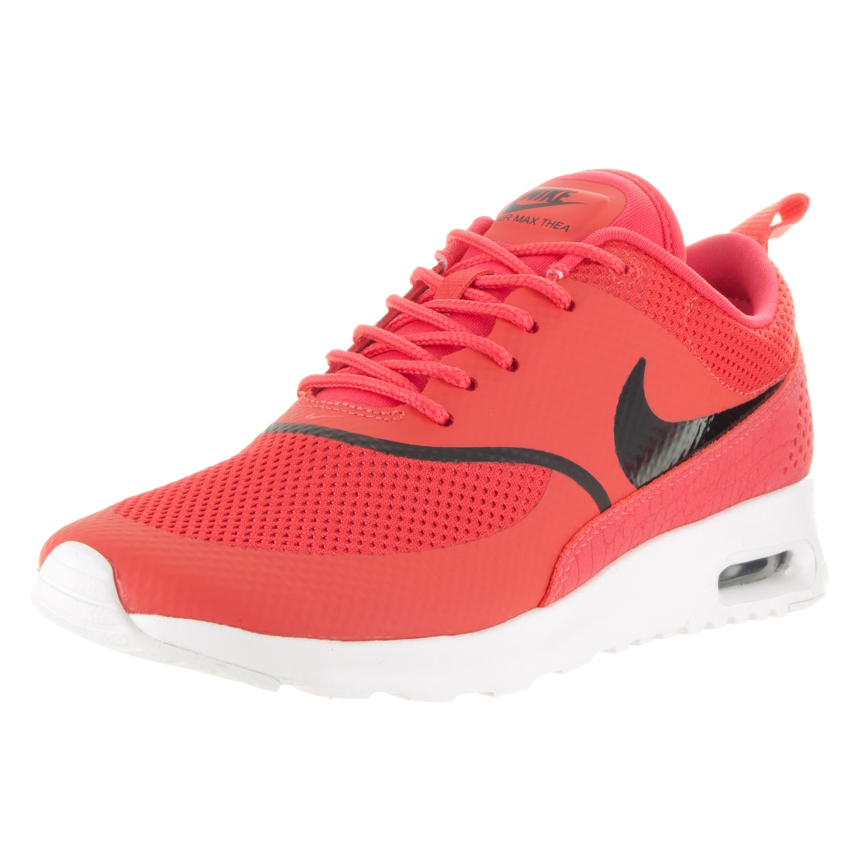 Nike Women's Air Max Thea Running Shoe (6.5), Red (lace)