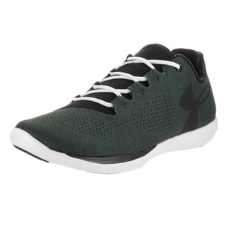 Under Armour Women's Street Precision Lo RLXD Black Synthetic Leather Training Shoes
