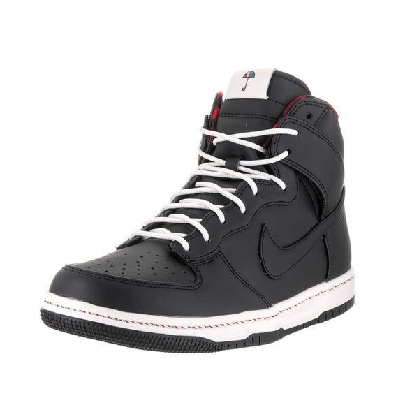 Shop Nike Men's Dunk Ultra Black Synthetic Leather Casual ...
