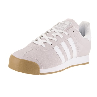 Adidas Women's Samoa Originals Pink Synthetic Leather Casual Shoe