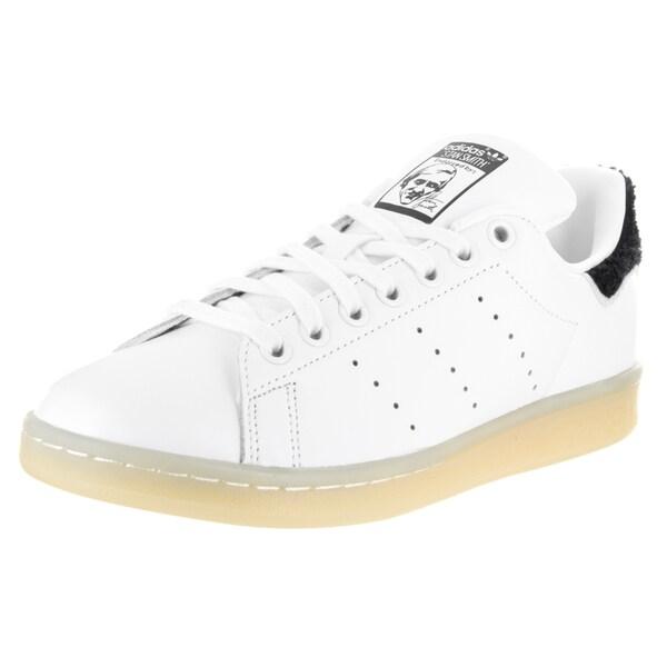 innovative design 221f0 4ad60 Adidas Women  x27 s Stan Smith W Originals White Leather Casual Shoe
