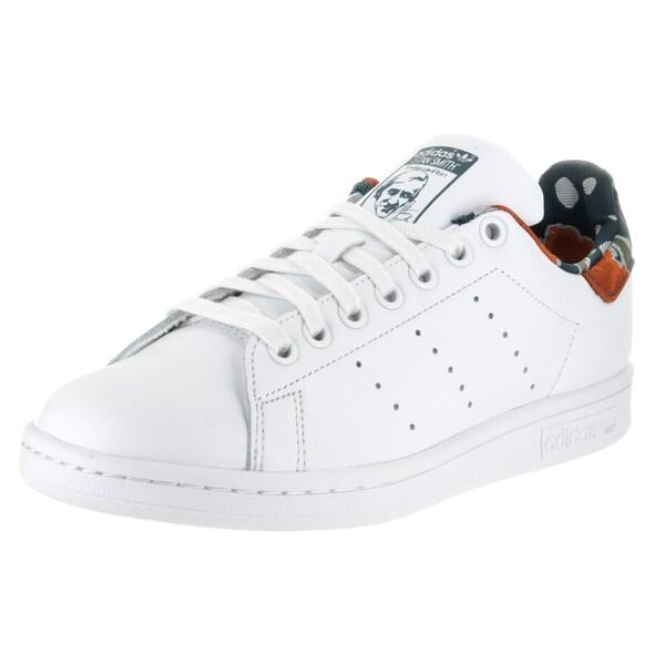 2b2c8ae5e56 Shop Adidas Women s White Leather Smith W Originals Casual Shoe ...