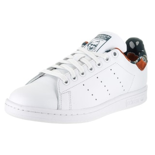 Adidas Women's White Leather Smith W Originals Casual Shoe