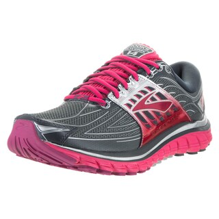 Brooks Women's Glycerin Pink and Grey Running Shoes