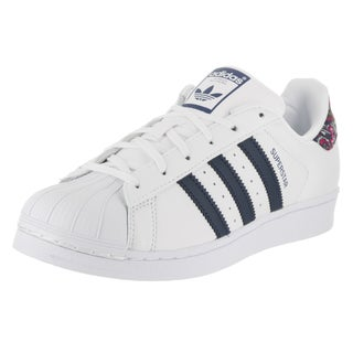 Adidas Women's Superstar W Originals White Synthetic Leather Casual Shoes