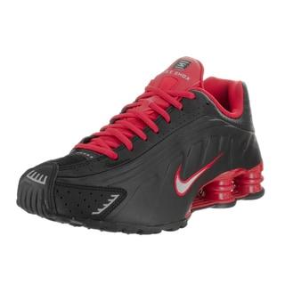 Nike Men's Shox R4 Black Synthetic Running Shoes