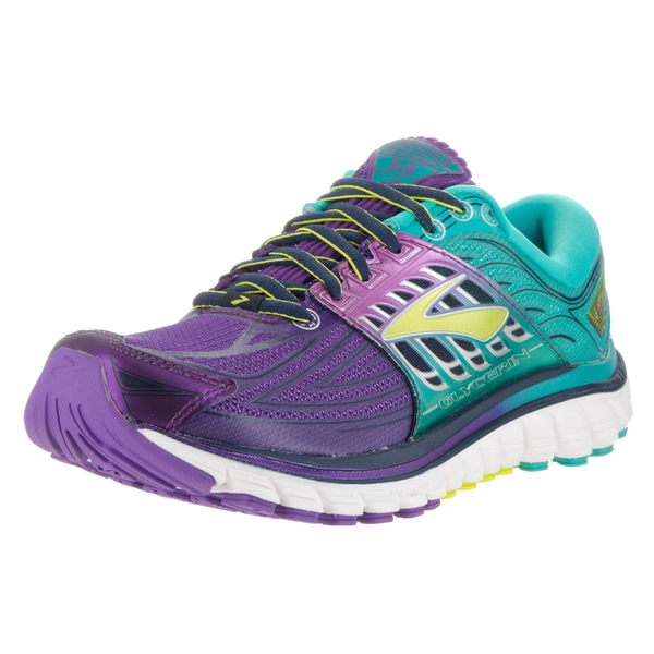 5b1b12a2fccaf Shop Brooks Women s Glycerin 14 Purple Running Shoes - Free Shipping ...
