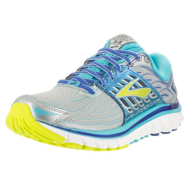 9d5a921f575e1 Shop Brooks Women s Glycerin 14 Silver Running Shoe - Free Shipping ...