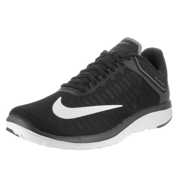 Shop Black Friday Deals on Nike Men's FS Lite Run 4 Black ...