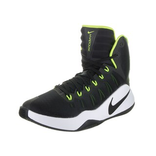 Nike Men's Hyperdunk 2016 Black Synthetic Leather Basketball Shoes