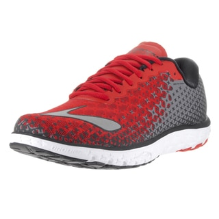 Brooks Men's PureFlow 5 Red, Black, and Silver Running Shoes