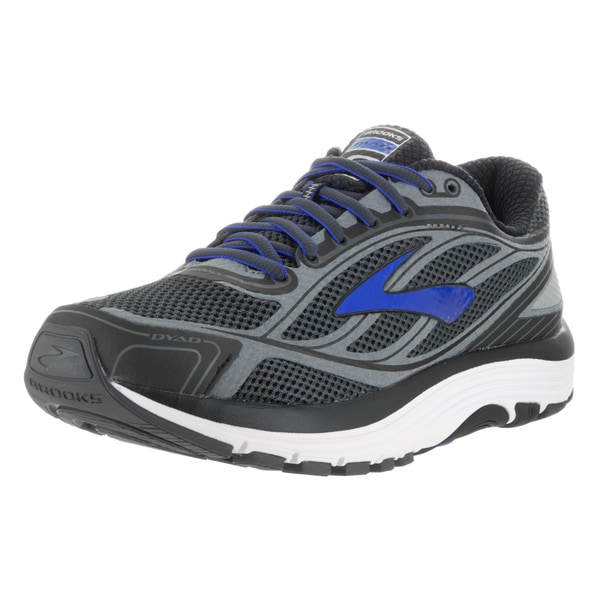 aa82552c0ed Shop Brooks Men s Dyad 9 Grey Running Shoes - Free Shipping Today ...