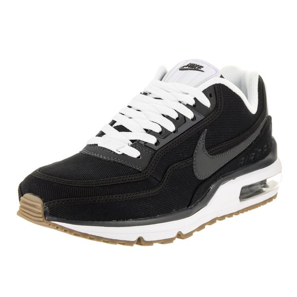 42dc2128c0b930 Shop Nike Men s Air Max LTD 3 TXT Black Textile Running Shoes - Free  Shipping Today - Overstock - 13477934