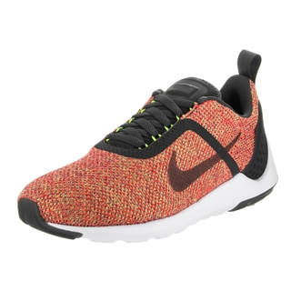 Nike Men's Lunarestoa 2 SE Orange Textile Running Shoes