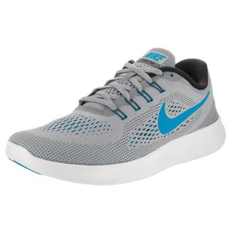 Nike Men's Free Run Grey Mesh Running Shoes