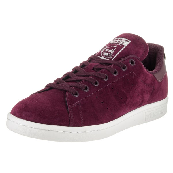 Shop Adidas Men s Stan Smith Originals Purple Suede Casual Shoes - Free  Shipping Today - Overstock - 13477961 52ea27f063c5