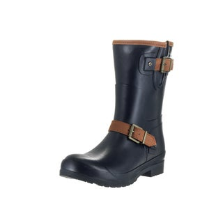 Sperry Top-sider Women's Walker Fog Blue Rubber Boots